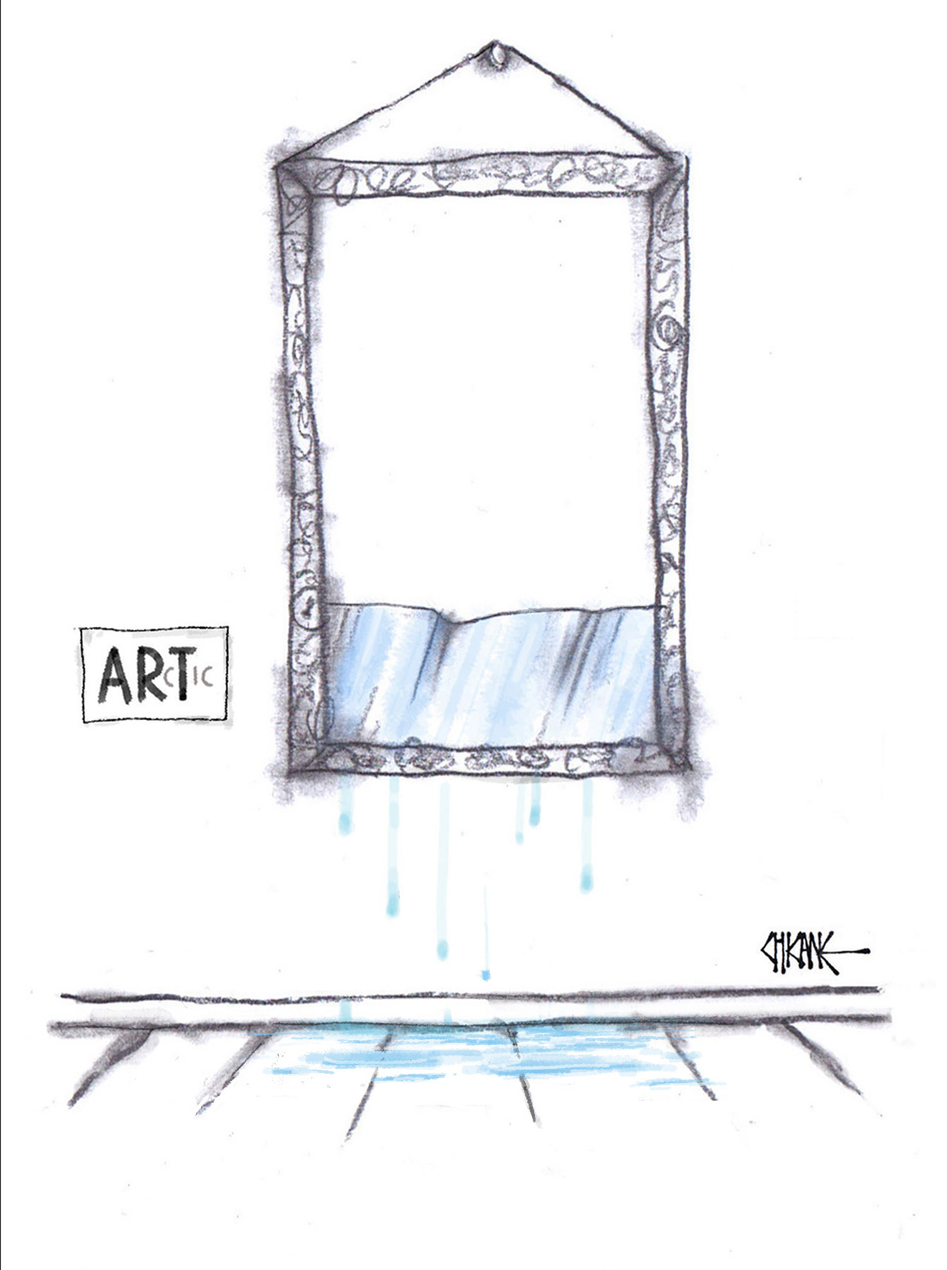 Arctic Art Cartoon by Chicane