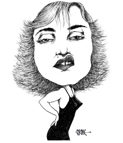 Madonna Caricature by Chicane