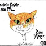 Paddles The Cat cartoon by Chicane